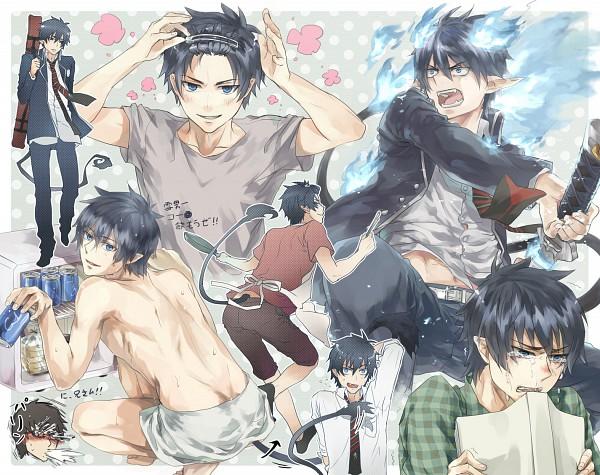 Tags: Anime, Kome Kako, Ao no Exorcist, Okumura Yukio, Okumura Rin, Fanart, Pixiv