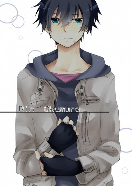 Tags: Anime, Pixiv Id 1509192, Ao no Exorcist, Okumura Rin, Pixiv, Mobile Wallpaper, Fanart