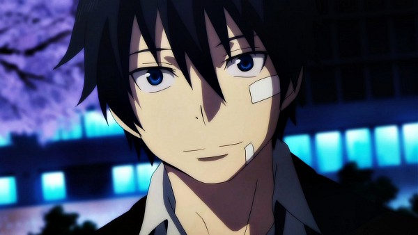 Tags: Anime, Ao no Exorcist, Okumura Rin, Screenshot, Wallpaper, Facebook Cover