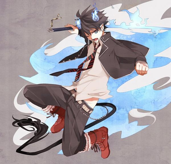 Tags: Anime, Kara (Pixiv2281984), Ao no Exorcist, Okumura Rin