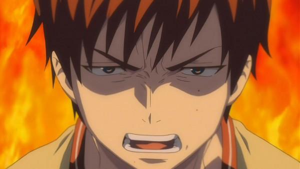 Tags: Anime, Ao no Exorcist, Okumura Yukio, Facebook Cover, Screenshot, Wallpaper