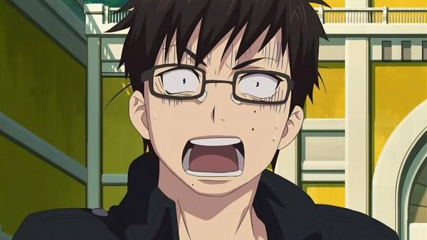 Tags: Anime, Ao no Exorcist, Okumura Yukio, O O, Facebook Cover, Wallpaper, Screenshot