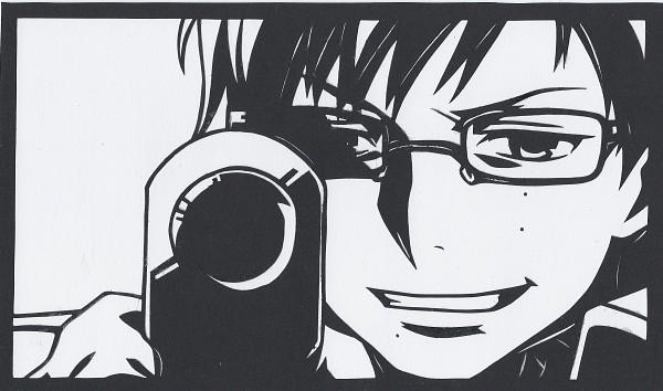 Tags: Anime, Pixiv Id 1607310, Ao no Exorcist, Okumura Yukio, Wallpaper, Fanart, Pixiv