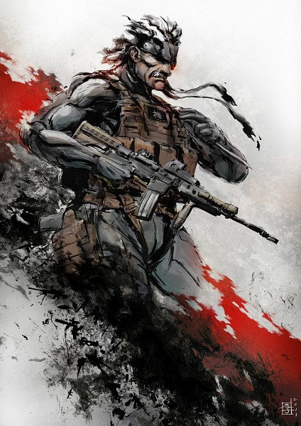 Old Snake - Metal Gear Solid