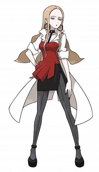 Tags: Anime, Ichikawa Haruko, Nintendo, GAME FREAK, Pokémon Sword & Shield, Pokémon, Olive (Pokémon), Forehead, Jitome, Official Art, Oleana
