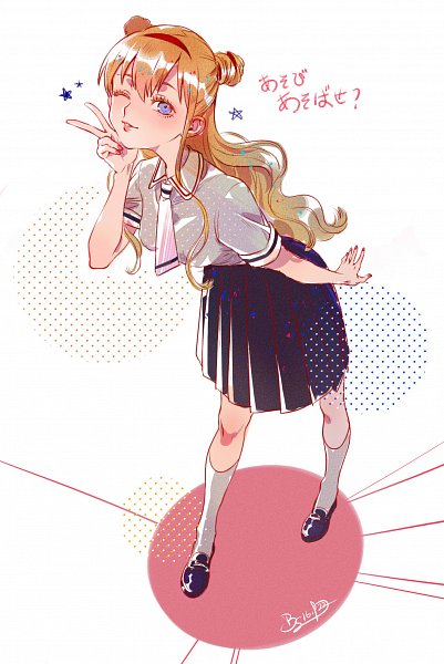 Tags: Anime, Pixiv Id 6100042, Asobi Asobase, Olivia (Asobi Asobase)