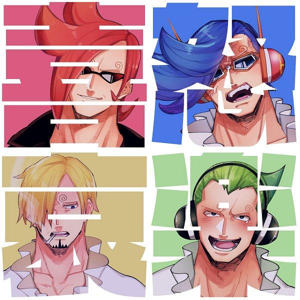 Tags: Anime, Sameoxmr, ONE PIECE, Vinsmoke Niji, Sanji, Vinsmoke Ichiji, Vinsmoke Yonji, One Piece: Two Years Later, Fanart, Twitter