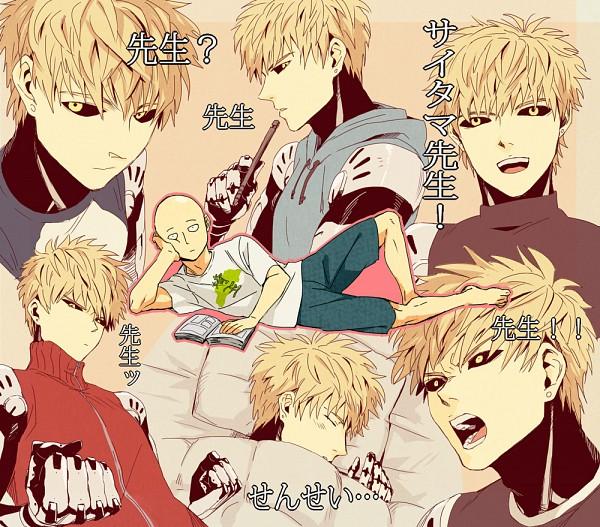 Tags: Anime, Pixiv Id 552656, One Punch Man, Saitama (One Punch Man), Genos (One Punch Man), Fanart From Pixiv, Pixiv, Fanart