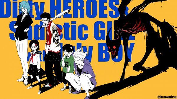 Tags: Anime, Pixiv Id 8134954, One Punch Man, Zenko (One Punch Man), Sweet Mask, Tareo, Kinzoku Bat, Garou (One Punch Man), Pixiv, Fanart, Fanart From Pixiv