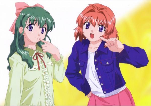 Tags: Anime, Onegai ☆ Twins, Miyafuji Miina, Onodera Karen