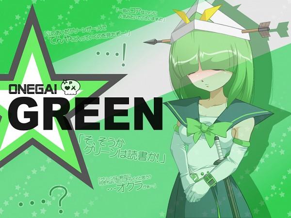 Tags: Anime, Pixiv Id 274381, Onegai! Ranking, Onegai Green, Pixiv, Fanart, Fanart From Pixiv