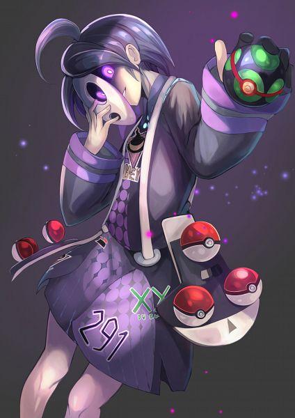 Tags: Anime, Pixiv Id 10847941, Pokémon Sword & Shield, Pokémon, Onion (Pokémon), Allister