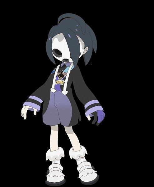 Tags: Anime, Ogasawara Shin, Studio Colorido, Pokémon: Twilight Wings, Pokémon Sword & Shield, Pokémon, Onion (Pokémon), Covered Face, Official Art, Allister