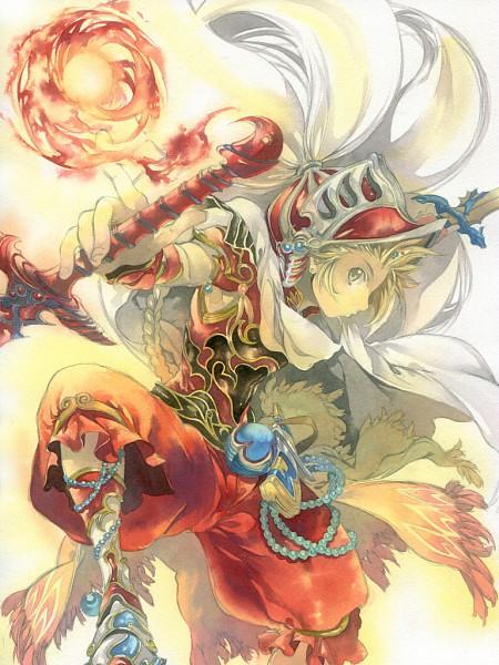 Tags: Anime, Issun Boushi, Final Fantasy III, Dissidia, Onion Knight