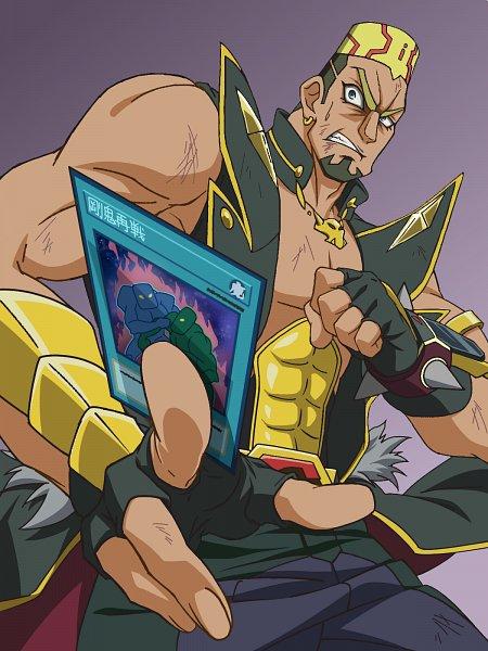 Tags: Anime, Pixiv Id 23038078, Yu-Gi-Oh! VRAINS, Yu-Gi-Oh!, Onizuka Gou, Spiked Bracelet, Wallpaper, Fanart, Fanart From Pixiv, Pixiv