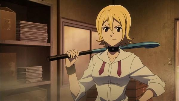 Tags: Anime, SKET Dance, Onizuka Hime, Hockey Stick, Screenshot, Wallpaper