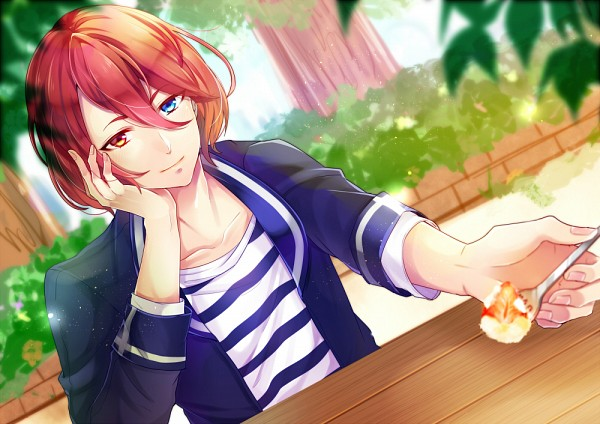 Tags: Anime, Pixiv Id 738073, B-Project, Onzai Momotaro, Holding Spoon, Fanart From Pixiv, Pixiv, Fanart