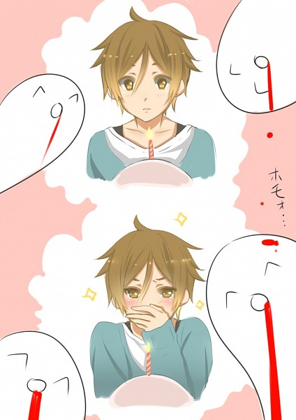 Tags: Anime, Mikan (Pixiv 603442), Tamako Market, Ooji Mochizou, ^q^, Reaction, Mobile Wallpaper, Pixiv
