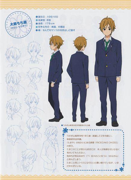 Tags: Anime, Kyoto Animation, Tamako Market, Ooji Mochizou, Official Art, Mobile Wallpaper, Scan