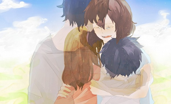 Tags: Anime, Pixiv Id 2051217, Ookami Kodomo no Ame to Yuki, Ookami Otoko, Ame (Ookami Kodomo), Yuki (Ookami Kodomo), Hana (Ookami Kodomo), Fanart From Pixiv, Pixiv, Fanart, The Wolf Children Ame And Yuki