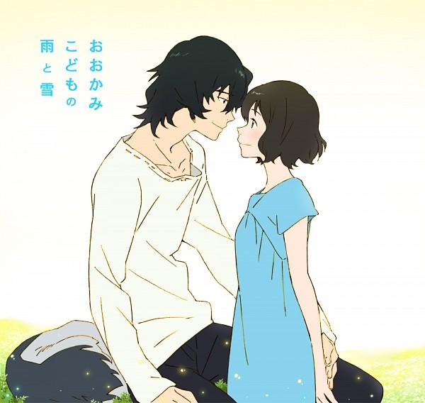 Tags: Anime, Mameko, Ookami Kodomo no Ame to Yuki, Ookami Otoko, Hana (Ookami Kodomo), The Wolf Children Ame And Yuki