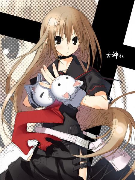 Tags: Anime, Kagome (Pixiv107450), Ookami-san to Shichinin no Nakama-tachi, Ookami Ryouko, Pixiv