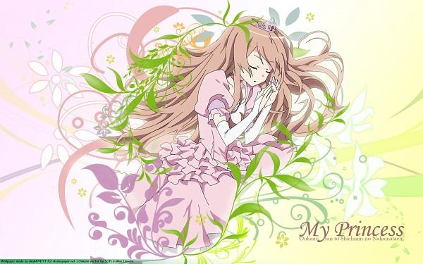 Tags: Anime, Ookami-san to Shichinin no Nakama-tachi, Ookami Ryouko, Wallpaper