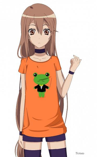 Tags: Anime, Fursen, Ookami-san to Shichinin no Nakama-tachi, To Aru Majutsu no Index, Ookami Ryouko, Gekota, Mobile Wallpaper