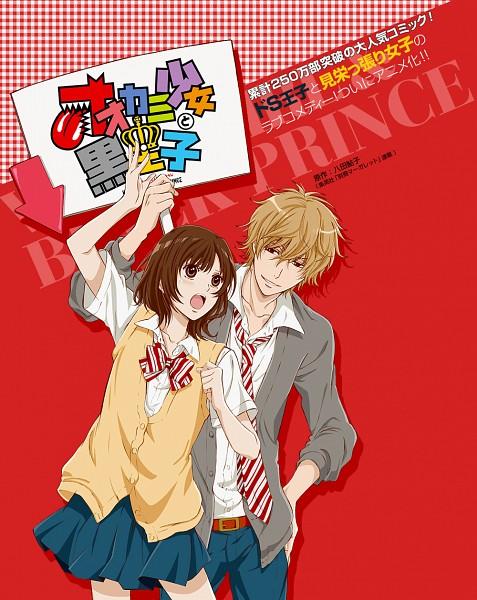 Tags: Anime, TYO Animations, Ookami Shoujo to Kuro Ouji, Shinohara Erika, Sata Kyouya, Sign Board, Official Art, Wolf Girl & Black Prince