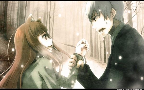 Tags: Anime, Ayakura Juu, Ookami to Koushinryou, Horo, Kraft Lawrence, Spice And Wolf