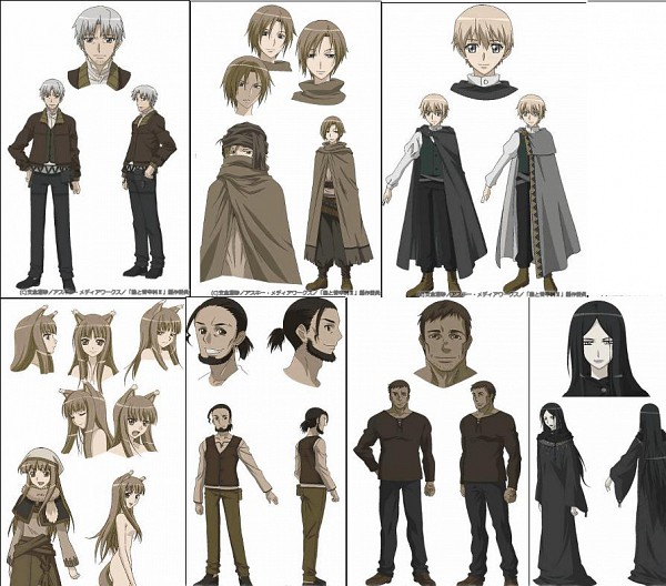 Tags: Anime, Ookami to Koushinryou, Character Sheet, Spice And Wolf