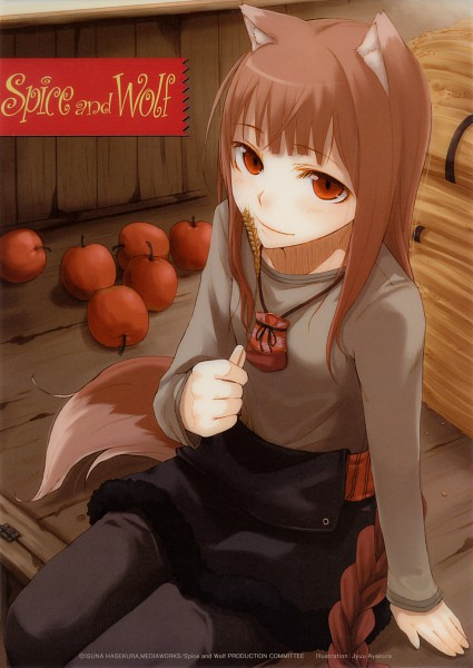 Tags: Anime, Ayakura Juu, Ookami to Koushinryou, Horo, Spice And Wolf