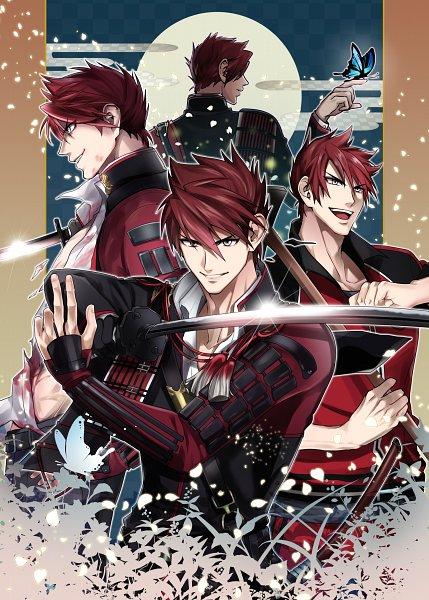 Tags: Anime, Pixiv Id 1710552, Touken Ranbu, Ookanehira, Character Sheet