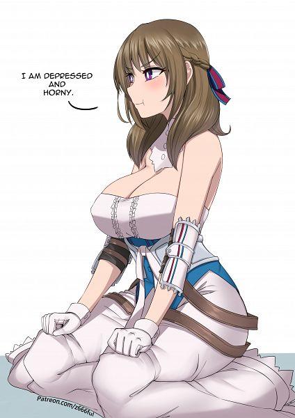 Tags: Anime, Pixiv Id 3519383, Tsujou Kougeki ga Zentai Kougeki de..., Oosuki Mamako, Pixiv