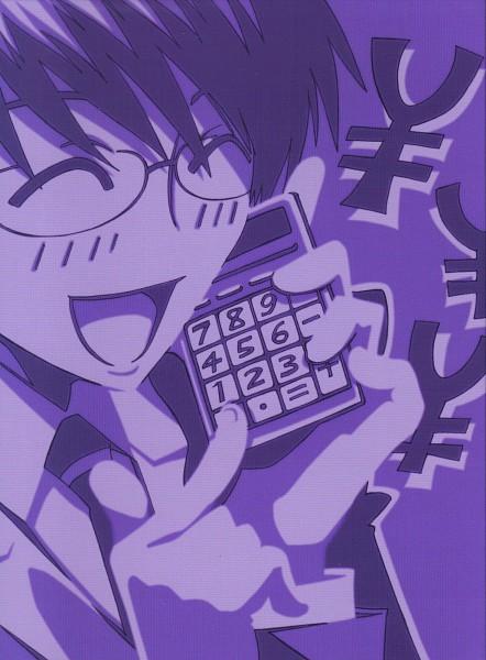 Tags: Anime, Ouran High School Host Club, Ootori Kyoya, Calculator, Official Art