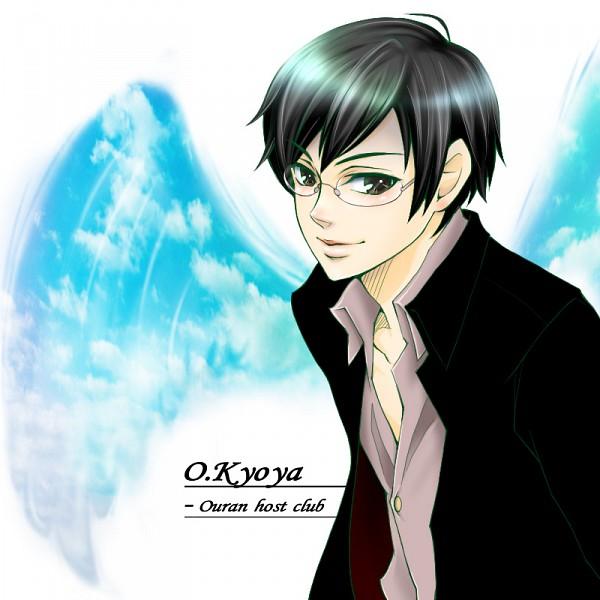 Tags: Anime, Karen (Pixiv 5714), Ouran High School Host Club, Ootori Kyoya, Fanart, Pixiv