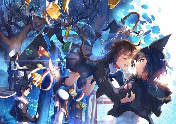 Tags: Anime, Pixiv Id 2497307, Oounabara to Wadanohara, Samekichi, Wadanohara, Anchor, Wadanohara And The Great Blue Sea