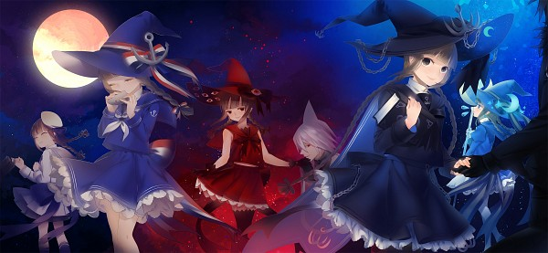 Tags: Anime, Pixiv Id 774384, Oounabara to Wadanohara, Wadanohara, Sal (Wadanohara), Samekichi, Ocarina, Pixiv, Facebook Cover, PNG Conversion, Wadanohara And The Great Blue Sea