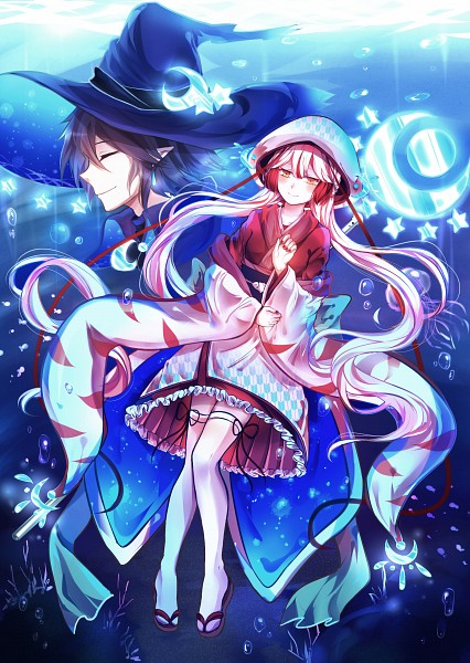 Tags: Anime, Pixiv Id 4588584, Oounabara to Wadanohara, Lord Meikai, Tatsumiya (Wadanohara), Mobile Wallpaper, Pixiv, Wadanohara And The Great Blue Sea