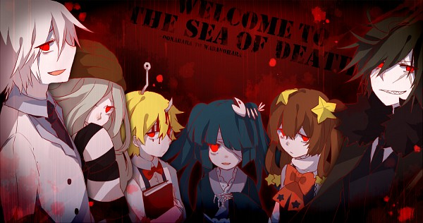 Tags: Anime, Mary-ko, Oounabara to Wadanohara, Old (Wadanohara), Stella (Wadanohara), Tsuribari, Princess Mikotsu, Sal (Wadanohara), Pixiv, Wadanohara And The Great Blue Sea
