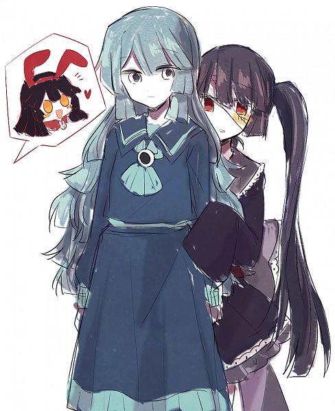 Tags: Anime, Pixiv Id 19083210, Oounabara to Wadanohara, Princess Tosatsu, Princess Mikotsu, Princess Uomi, Fanart From Pixiv, Pixiv, Fanart, Wadanohara And The Great Blue Sea