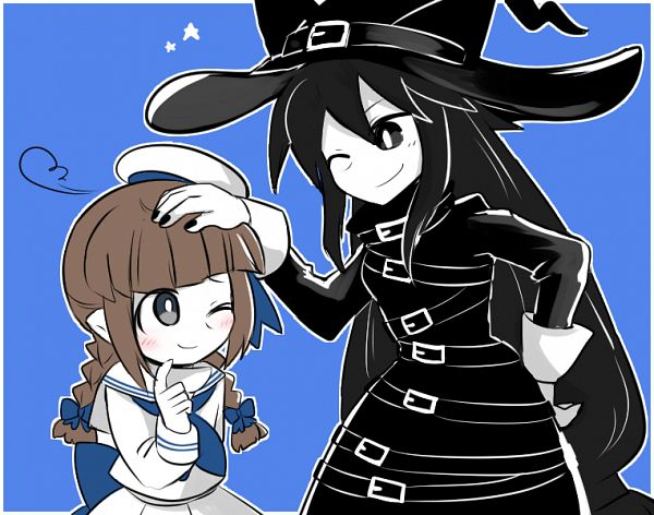Tags: Anime, Pixiv Id 4314906, Oounabara to Wadanohara, Chlomaki, Wadanohara, Fanart From Pixiv, Pixiv, Fanart, Wadanohara And The Great Blue Sea