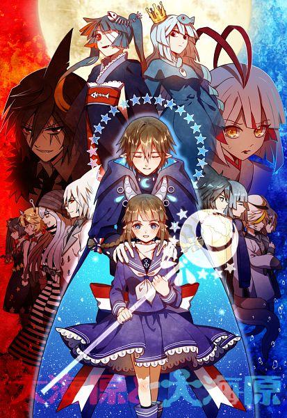 Tags: Anime, MaJiang, Oounabara to Wadanohara, Princess Mikotsu, Samekichi, Tatsumiya (Wadanohara), Princess Uomi, Fukami, Old (Wadanohara), Lord Meikai, Wadanohara, Stella (Wadanohara), Dolphi, Wadanohara And The Great Blue Sea