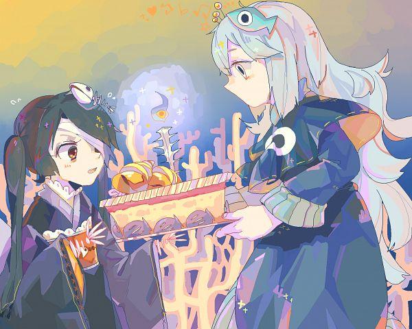 Tags: Anime, Oounabara to Wadanohara, Princess Mikotsu, Princess Uomi, Pixiv Id 8137677, Fanart From Pixiv, Pixiv, Fanart, Wadanohara And The Great Blue Sea