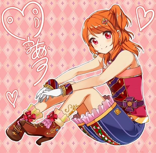 Tags: Anime, Tarachine, Aikatsu!, Oozora Akari, Fanart From Pixiv, PNG Conversion, Pixiv, Fanart, Akari Oozora