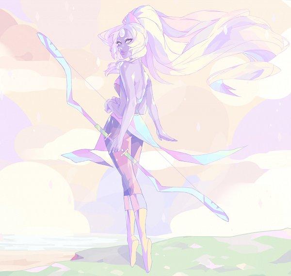 Tags: Anime, Vonnabeee, Steven Universe, Opal (Steven Universe)