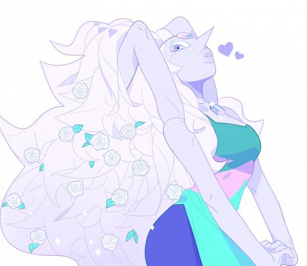 Tags: Anime, Atta (Artist), Steven Universe, Opal (Steven Universe)