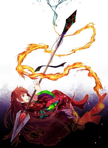 Tags: Anime, Yamabukky, Mahou Shoujo Madoka☆Magica, Sakura Kyouko, Ophelia (Mahou Shoujo Madoka Magica), Mobile Wallpaper, Fanart, PNG Conversion