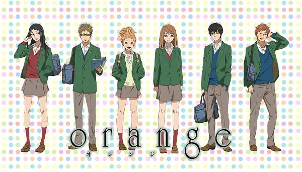 Tags: Anime, Orange (Takano Ichigo), Chino Takako, Suwa Hiroto, Naruse Kakeru, Murasaka Azusa, Takamiya Naho, Hagita Saku