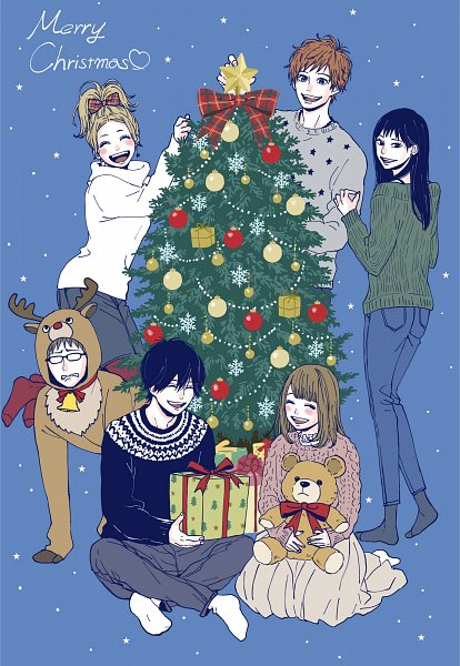 Tags: Anime, Takano Ichigo, Orange (Takano Ichigo), Suwa Hiroto, Naruse Kakeru, Murasaka Azusa, Takamiya Naho, Hagita Saku, Chino Takako, Official Art
